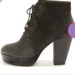 Steven Madden high heeled ankle boots